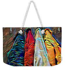 Weekender Tote Bag featuring the digital art Friends by Pennie McCracken