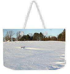 Frost Delay Weekender Tote Bag