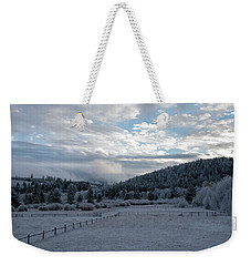 Frosted Sunrise 1 Weekender Tote Bag
