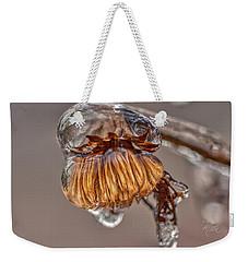 Frozen Blond Weekender Tote Bag