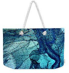 Frozen In Blue Weekender Tote Bag