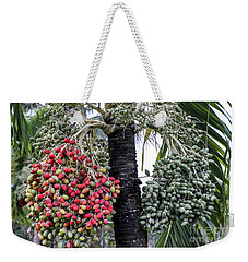 Fruity Palm Tree  Weekender Tote Bag