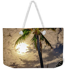 Full Moon Palm Weekender Tote Bag