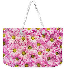 Full Of Pink Flowers Weekender Tote Bag