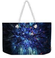 Galactic Crystal Weekender Tote Bag