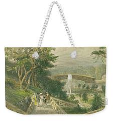 Garden At Fairmount Weekender Tote Bag