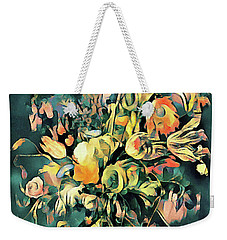 Weekender Tote Bag featuring the painting Garden Bounty by Susan Maxwell Schmidt