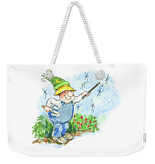 Garden Magic Weekender Tote Bag
