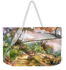 Garden Reflections Weekender Tote Bag