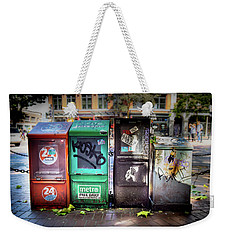 Gastown Street Newsstand Weekender Tote Bag