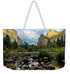 Gates Of The Valley 3 Weekender Tote Bag