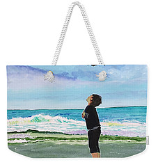 Gazing At Gulls Weekender Tote Bag