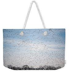 Geese In The Flyway Weekender Tote Bag