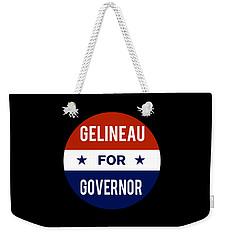 Gelineau For Governor 2018 Weekender Tote Bag