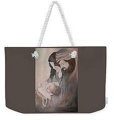Gentle Savior Weekender Tote Bag