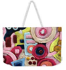 Geometric Abstract 1 Weekender Tote Bag