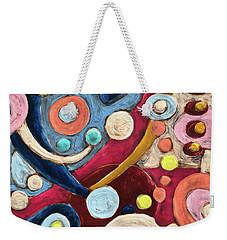 Geometric Abstract 2 Weekender Tote Bag