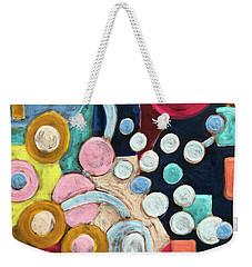 Geometric Abstract 3 Weekender Tote Bag