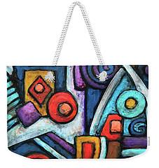 Geometric Abstract 4 Weekender Tote Bag
