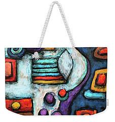 Geometric Abstract 5 Weekender Tote Bag