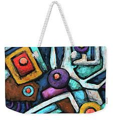 Geometric Abstract 6 Weekender Tote Bag