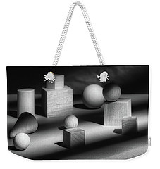 Geometric Shapes Weekender Tote Bag