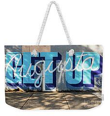 Get Up Augusta Ga Mural  Weekender Tote Bag