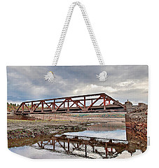 Ghost Bridge - Colebrook Reservoir Weekender Tote Bag