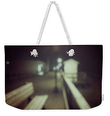 Weekender Tote Bag featuring the photograph ghosts IV by Steve Stanger