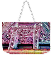 Ghoulish Gargoyles Abstract Weekender Tote Bag