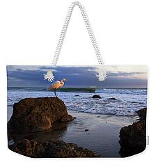 Giant Egret Weekender Tote Bag