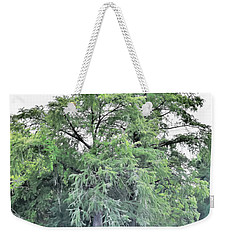 Weekender Tote Bag featuring the photograph Giant River Tree by James Fannin