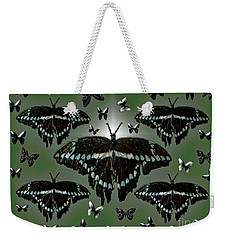 Giant Swallowtail Butterflies Weekender Tote Bag