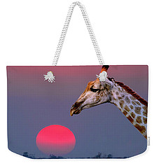 Giraffe Composite Weekender Tote Bag