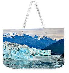 Glacier Calving Alaska  Weekender Tote Bag