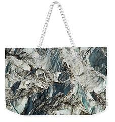 Glacier Ice 1 Weekender Tote Bag