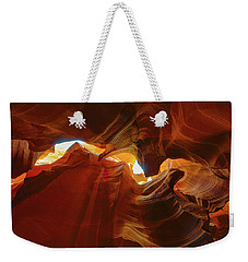 Weekender Tote Bag featuring the photograph Antelope Jagged Beauty by Mark Duehmig