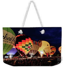 Weekender Tote Bag featuring the photograph Glow by Brad Allen Fine Art