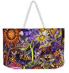 Glowing Fairy Forest Weekender Tote Bag