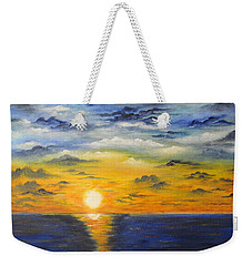 Glowing Sun Weekender Tote Bag