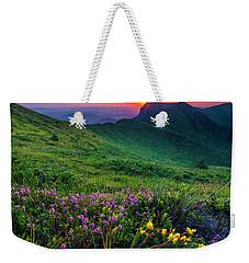 Goat Wall Weekender Tote Bag