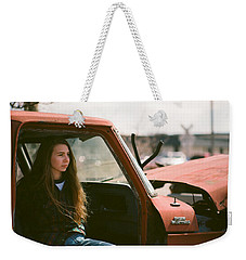 Weekender Tote Bag featuring the photograph Going Nowhere by Carl Young
