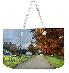 Going Up The Country Weekender Tote Bag