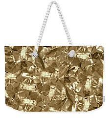 Weekender Tote Bag featuring the photograph Gold Best Gift  by Top Wallpapers