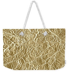 Weekender Tote Bag featuring the photograph Gold Cute Gift by Top Wallpapers
