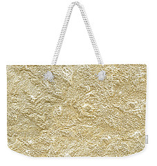 Weekender Tote Bag featuring the photograph Gold Stone  by Top Wallpapers