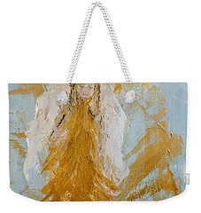 Golden Angel Weekender Tote Bag