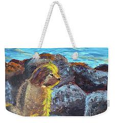Golden Dog Weekender Tote Bag