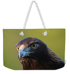 Weekender Tote Bag featuring the photograph Golden Eagle 5151802 by Rick Veldman