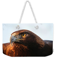 Weekender Tote Bag featuring the photograph Golden Eagle 5151803 by Rick Veldman